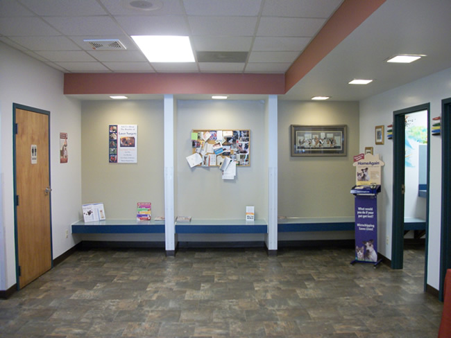Eastside Animal Hospital Waiting Area